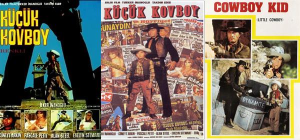 Kapadokya'da çekilen Küçük Kovboy filmi
